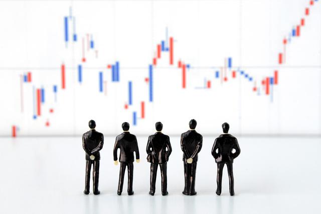 株価値上がり