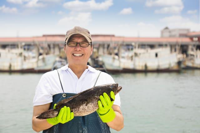 漁業を営む漁師