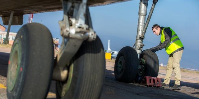 航空機の整備士