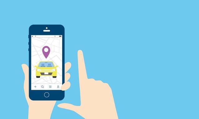 タクシー配車アプリ