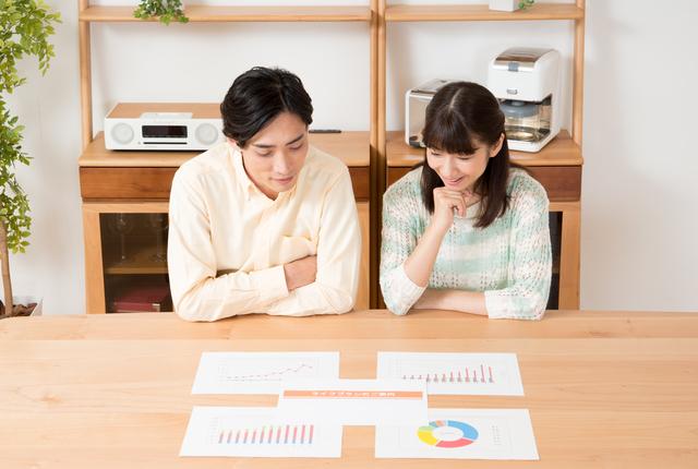 資産運用を考える夫婦